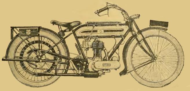 1919 TRIUMPH 4HP1