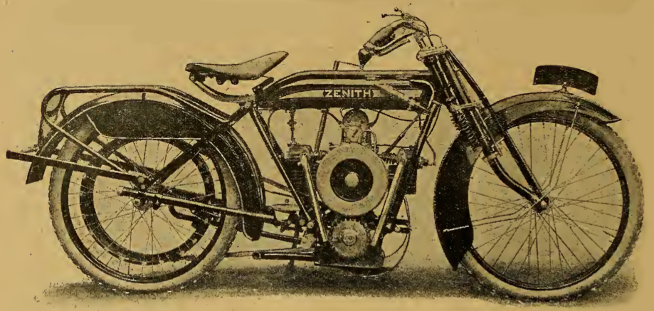 1919 ZENITH FLATWIN