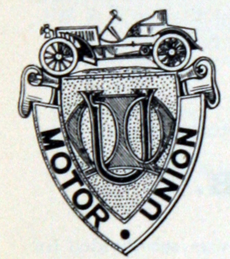 1908 MOTOR UNION BADGE