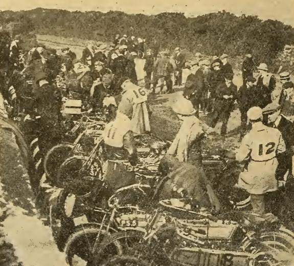 1908 TT FILLING UP