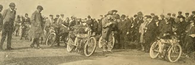 1908 TT START