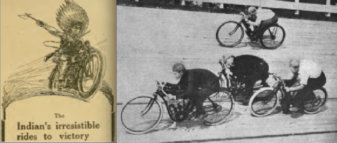 1909 INDIAN TRACK