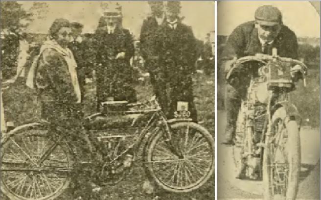 1909 TT LEE-EVANS