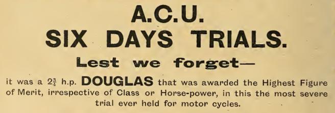 1913 6DT DOUGLAS AD