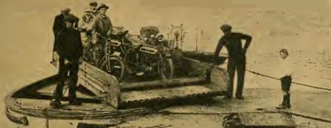 1913 BENEVIS FERRY