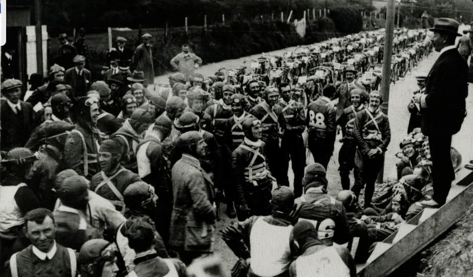 1913 TT RIDERS ADDRESSED