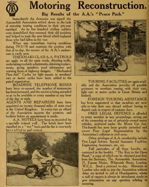 1919 AA PEACE AD