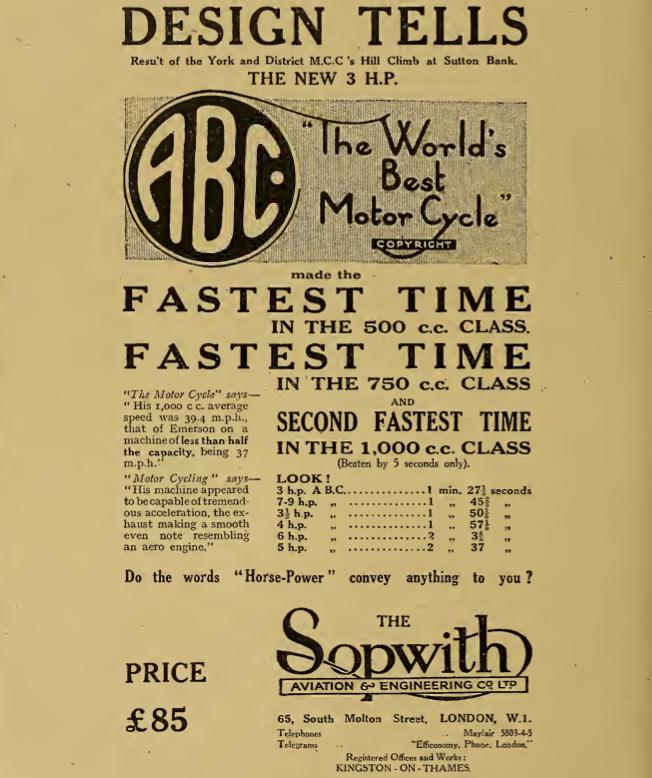 1919 ABC AD