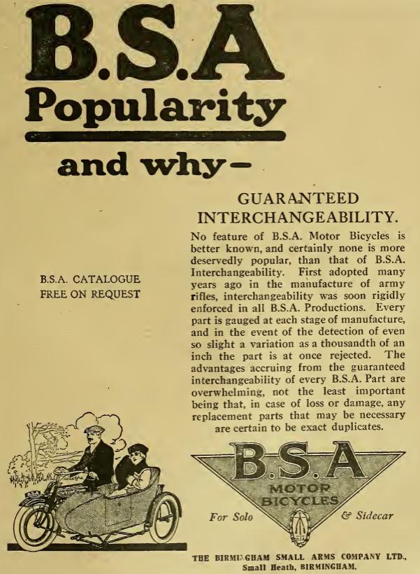 1919 BSA AD
