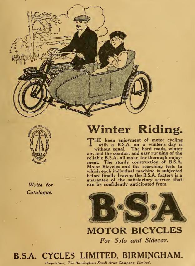 1919 BSA AD2