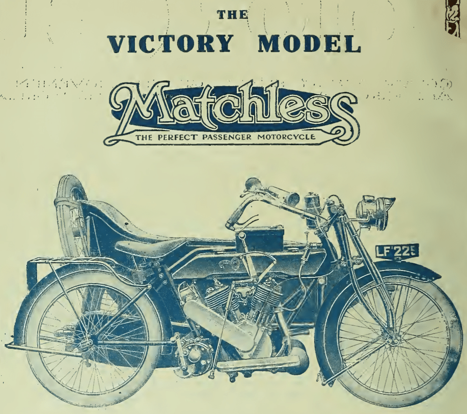 1919 MATCHLESS AD