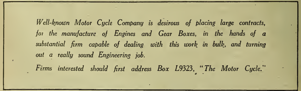 1919 MYSTERY AD