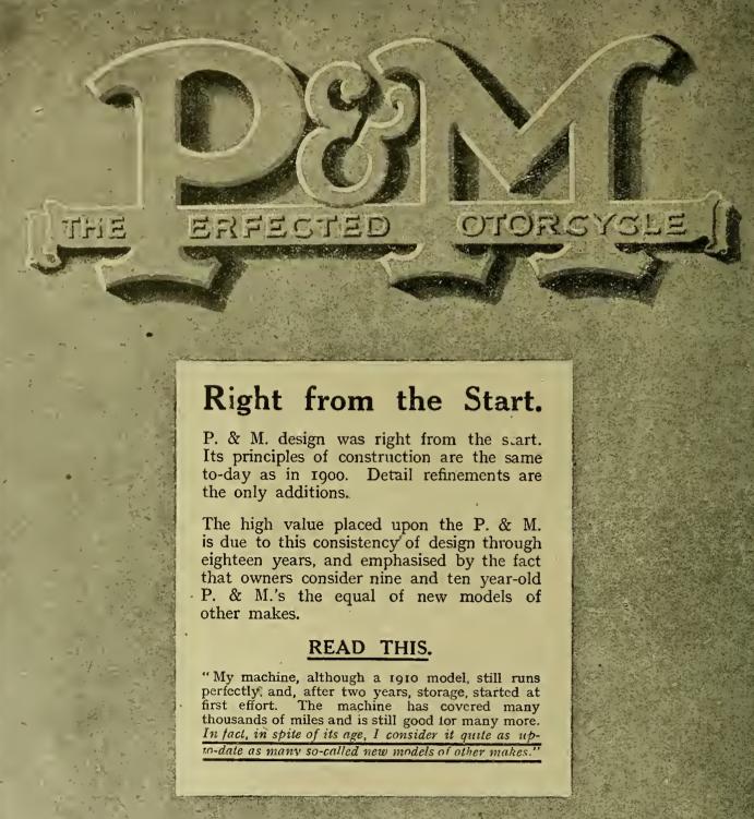 1919 P&M AD