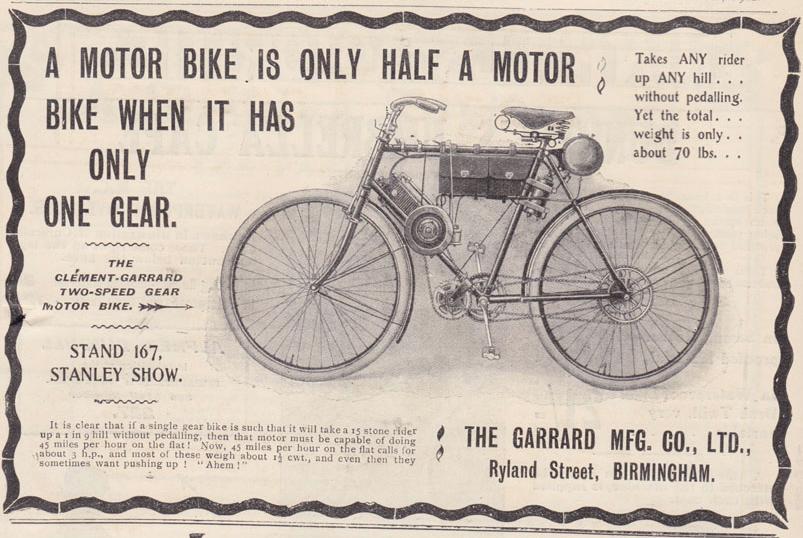 1902 CLEMGARRARD AD