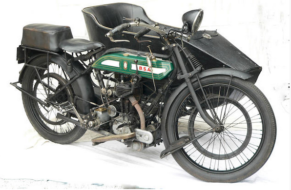 1919 BSA MOD H 557CC