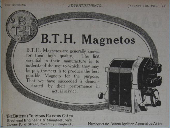 1919 BTH