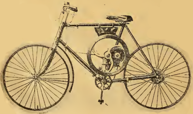 1920 FLYWHEEL CYCLE