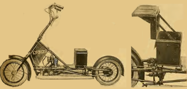 1920 HUDLASS SCOOTER