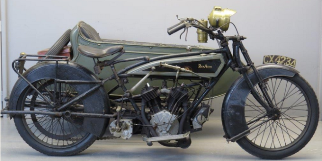 1920 REX TWIN COLOUR