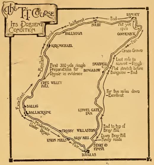 1920 TT COURSE CONDITION