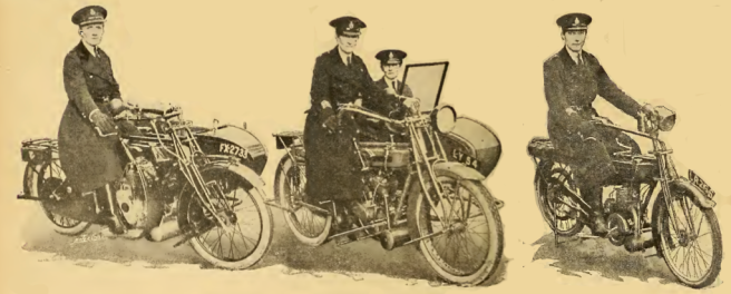 1920 WOMEN BIKE COPS