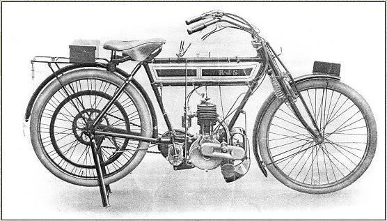 1909 AJS MODEL B