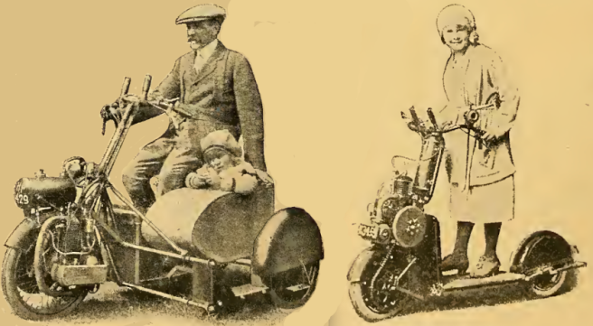 1920 2 SCOOTERS