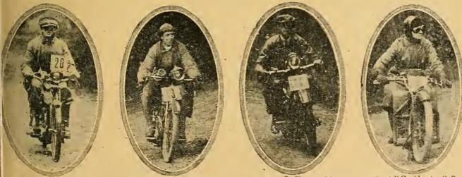 1920 ARBUTHNOT 4 RIDERS