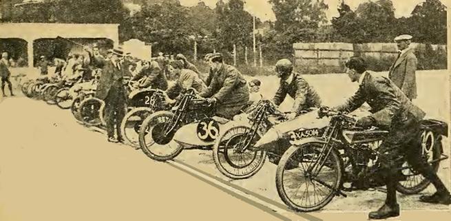 1920 BROOKLANDS OPEN START
