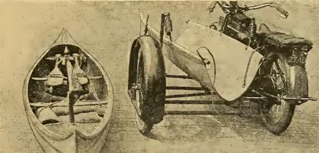 1920 CANOE SIDECAR