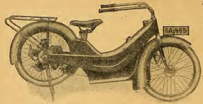 1920 GERMAN FIVE