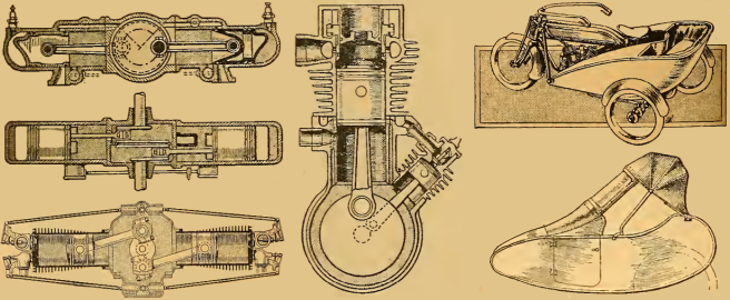 1920 PATENTS ENGINES SCARS