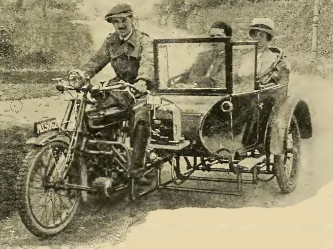 1920 SIDECAR TAXI