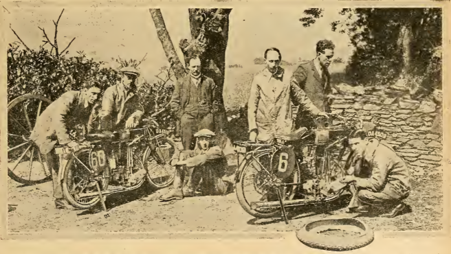 1920 TT JUNIOR AJS RURAL DEPOT