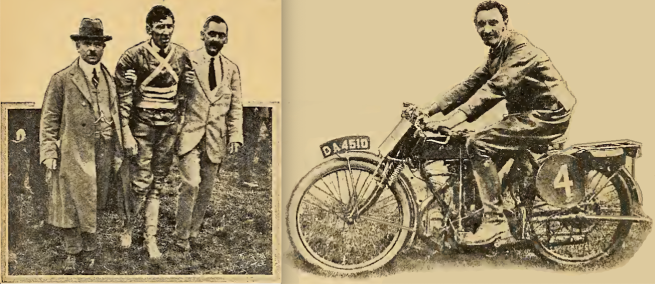1920 TT JUNIOR WINNER 2PICS