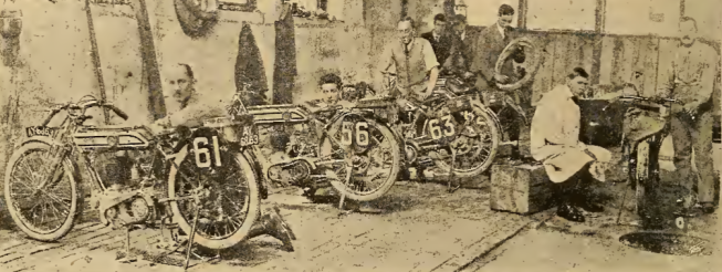 1920 TT NORTON WORKSHOP