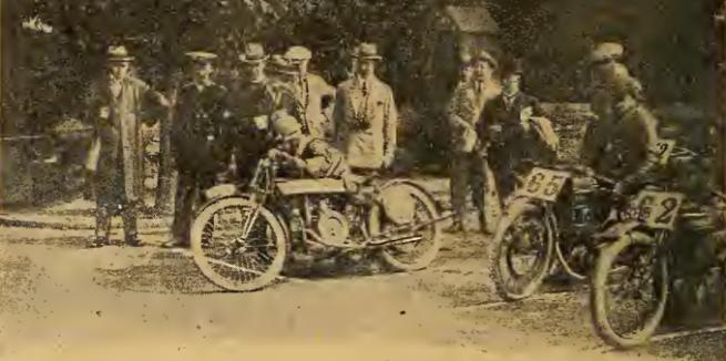 1920 TT SENIOR ALEXANDER START