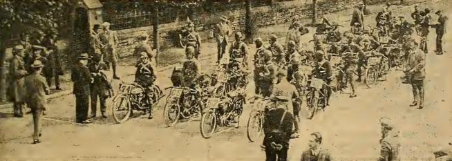 1920 TT SENIOR START