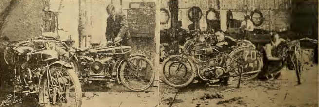 1920 TT SENIOR WOOLER SUNBEAM WORKSHOPS