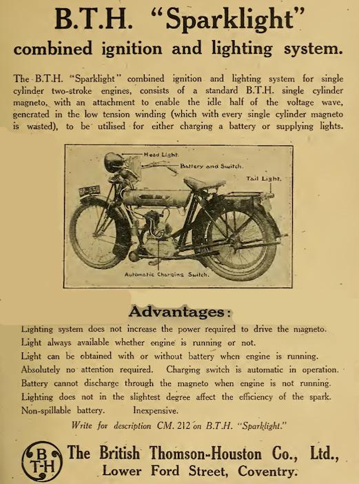 1920 BTH SPARKRIGHT