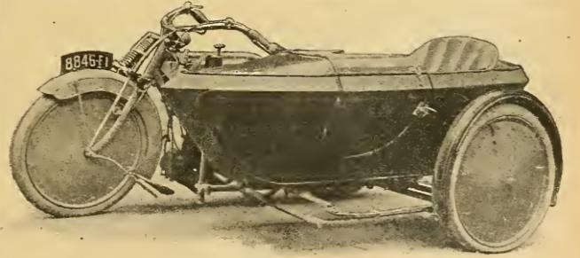 1920 GARNIER SIDECAR