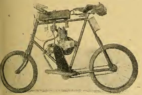 1920 RHODESIAN BIKE