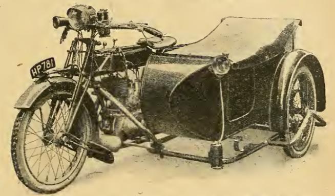 1920 SUNBEAM SCAR
