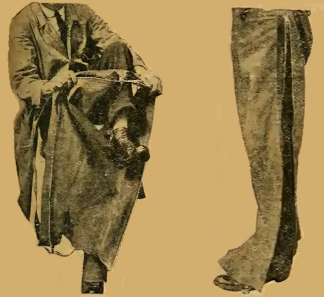 1920 ZIPPED OVERTROUSERS
