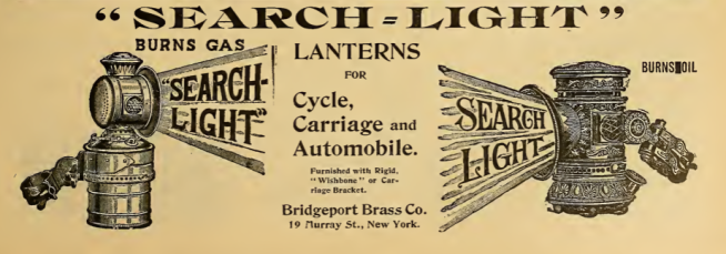 1901 SEARCHLIGHT AD