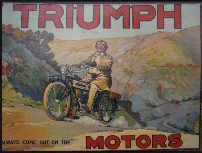 1910 TRIUMPH AD