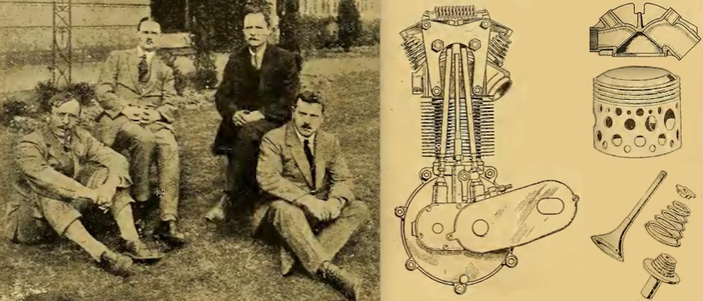 1921 AJS350 ENGINE