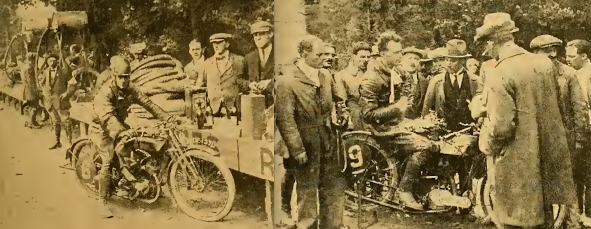 1921 BELGIAN GP STRANGE