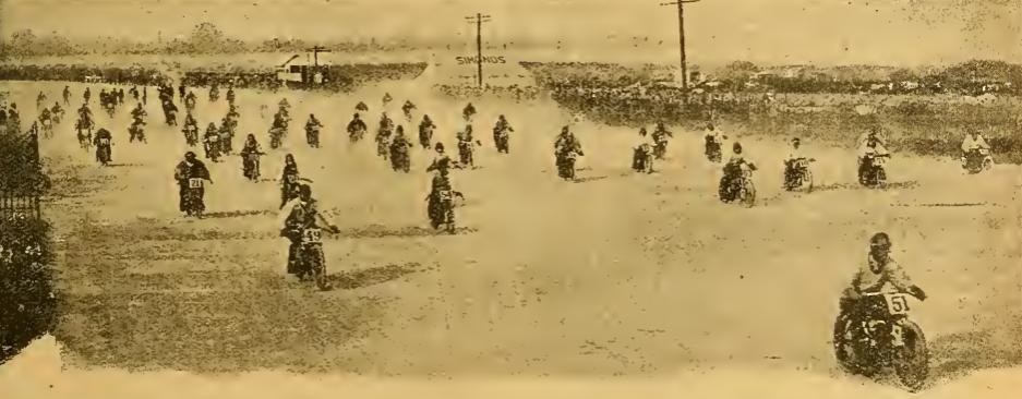 1921 BROOKLANDS 500 START