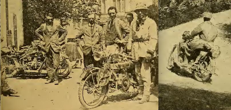 1921 ISDT LANGMAN WOOD